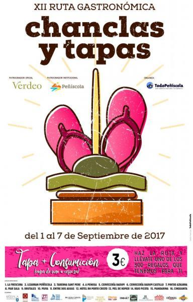 Ruta Gastronómica Chanclas y Tapas - Peñíscola 2017