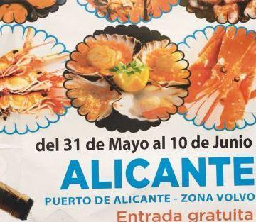 Feria del Marisco Gallego en Alicante 2018