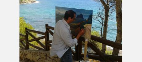 Trobada d'Art a la Mar