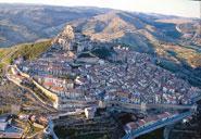 Imatge panoràmica de Morella