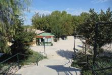 Font de Sis, the campsite from which to enjoy El Palomar