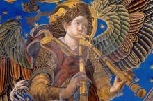 Ausstellung 'D'Atzur i or. El silenci dels àngels'