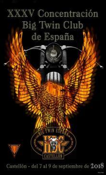 Concentración Big Twin club de España