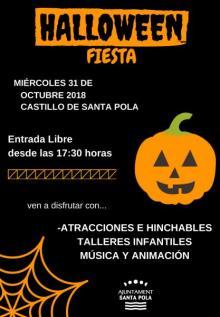 Fiesta Infantil Halloween Santa Pola