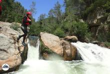 Pura adrenalina en Montanejos con Dinamic Adventure
