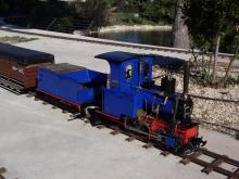 """Trenet""del Centro Ferroviario Vaporista."