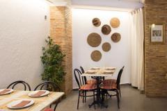 Interior Restaurante El Pozo Chulilla