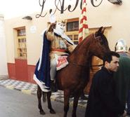 Rei Pàixaro, en l'honneur de San Antonio Abad
