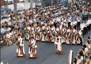 Moors and christians in honour of Santa Marta