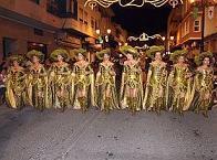 Festivité de Santiago Apóstol avec Moros y Cristianos