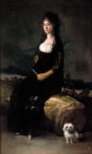 Sala dedicada a Goya en el Museo de Bellas Artes San Pio V de Valencia