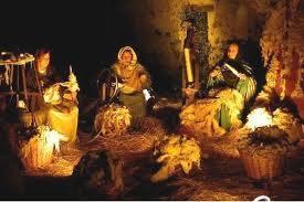 Exposition of the nativity scene. Benissa
