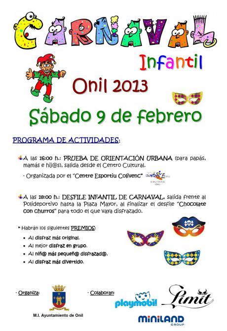 Carnaval Infantil Onil 2013