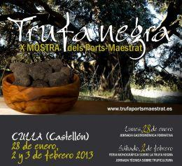 Inland areas of Castellón hold two truffle-themed events:  the X Mostra de la Trufa Negra dels Ports-Maestrat and the II Jornadas Gastronómicas de la Trufa