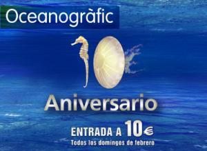 The Oceanogràfic celebrates its tenth anniversary in style