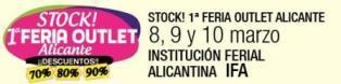 I Stock. Feria Outlet Alicante 2013