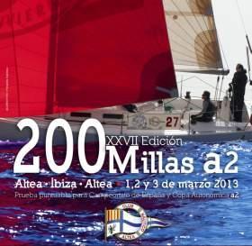 La regata 200 Millas a Dos zarpa desde Altea