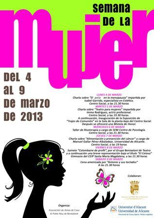 Semana de la Mujer 2013