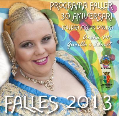 PROGRAMA DE FALLAS OLIVA 2013