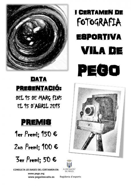 """Certamen de fotografía deportiva """"Villa de Pego"""""""