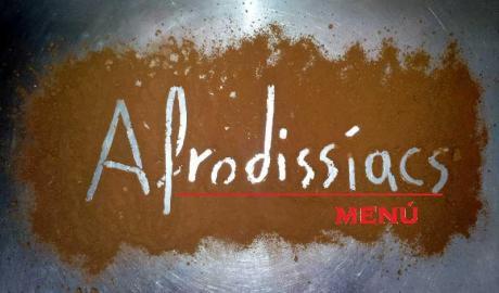 Menú degustación afrodisíaco en el Restaurante L'Escudella de Vilafranca.