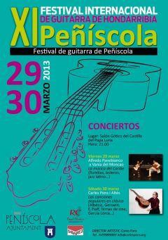 XI Festival de Guitarra Hondarribia-Peñíscola