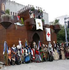 Moros y Cristianos en Honor a San Vicente Ferrer 2013