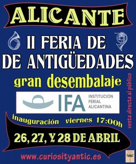 II Feria de Antiguedades. Gran Desembalaje 2013