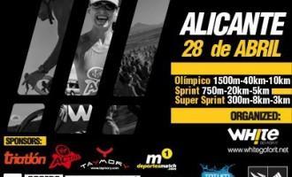 Triatlón TriWhite Alicante 2013.