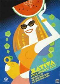 Arranca la Feria de Agosto de Xàtiva