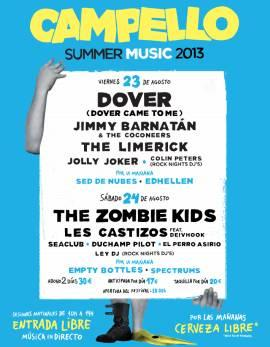 Dover i The Zombie Kids al Campello Summer Music 2013