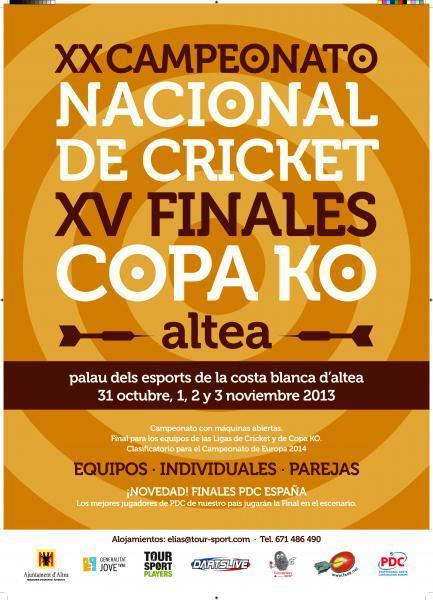 XX Campeonato Nacional de Cricket XV Finales Copa KO