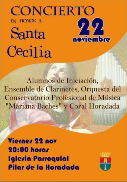 Concierto en Honor a Santa Cecilia en Pilar de la Horadada