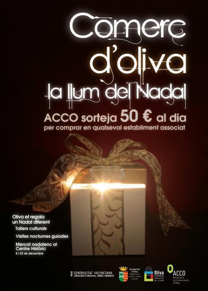Campaña de Navidad de ACCO. Oliva