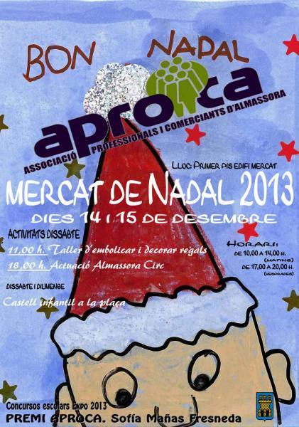 Mercado de Navidad en Almazora