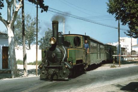 """La Panderola, die Geschichte von einem Zug der """"fliegt"""""""