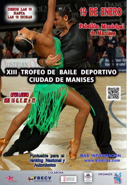 XIII Trofeo de Baile Deportivo Ciudad de Manises