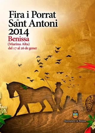 Program of Fira i Porrat Sant Antoni Benissa
