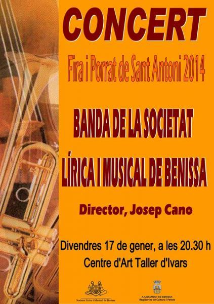 Concert of the Benissa Music Band