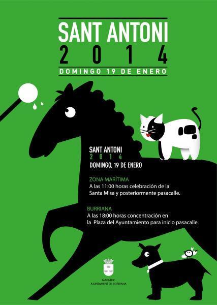 Fiestas de San Antonio 2014 Burriana