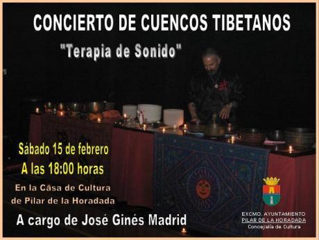 Concierto de cuencos tibetanos en Pilar de la Horadada
