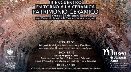 III Trobada al Voltant de la Ceràmica. Patrimoni Ceràmic