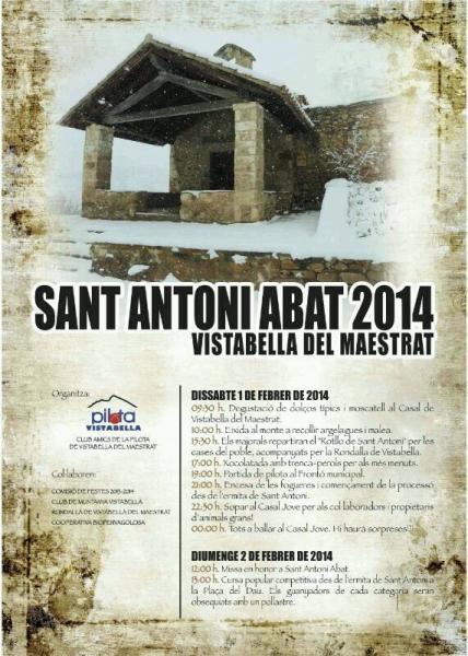 San Antonio Abad en Vistabella del Maestrat