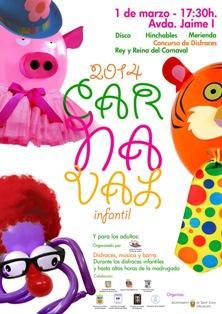 Carnaval en Sant Joan d'Alacant 2014