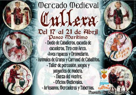 Mercado Medieval Cullera del 17 al 21 Abril