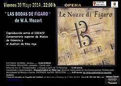""""""" LAS BODAS DE  FÍGARO """" W. A. Mozart"""