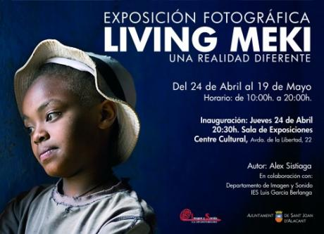 """EXPOSICIÓN """"LIVING MEKI"""" en San Juan de Alicante 2014"""