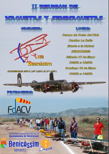 Aeromodelismo - II Reunión Anual de Maquetas y Semimaquetas