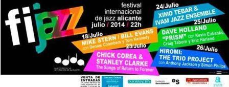 Festival Internacional de Jazz en Alicante 2014