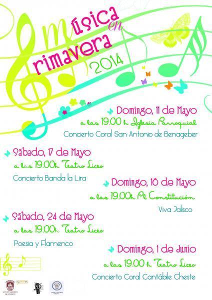 MÚSICA EN PRIMAVERA 2014